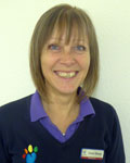 Carol Sharp, support team at Claremont Veterinary Group