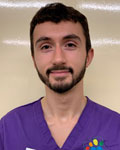 Matt Badham, patient care assistant at Claremont Veterinary Group